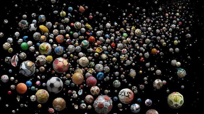 992 balones abandonados en el mar  un ejemplo de la gran cantidad de  plástico en el mar 76b5159a1cfc