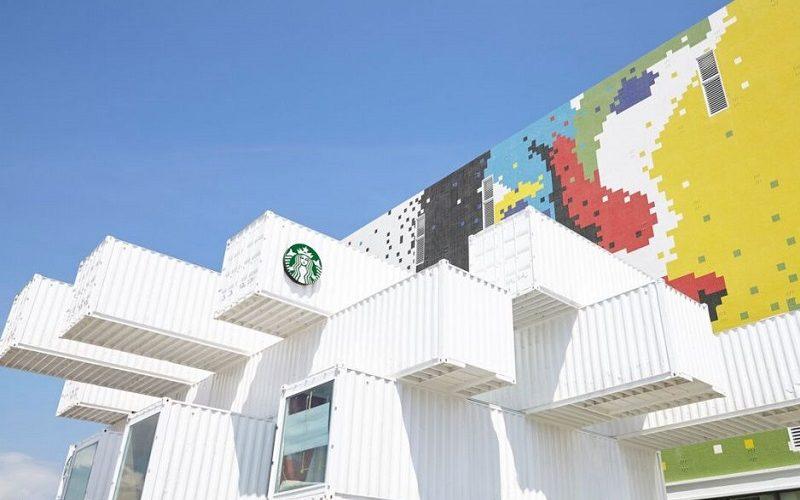 Amarás el Starbucks hecho con contenedores de Taiwán