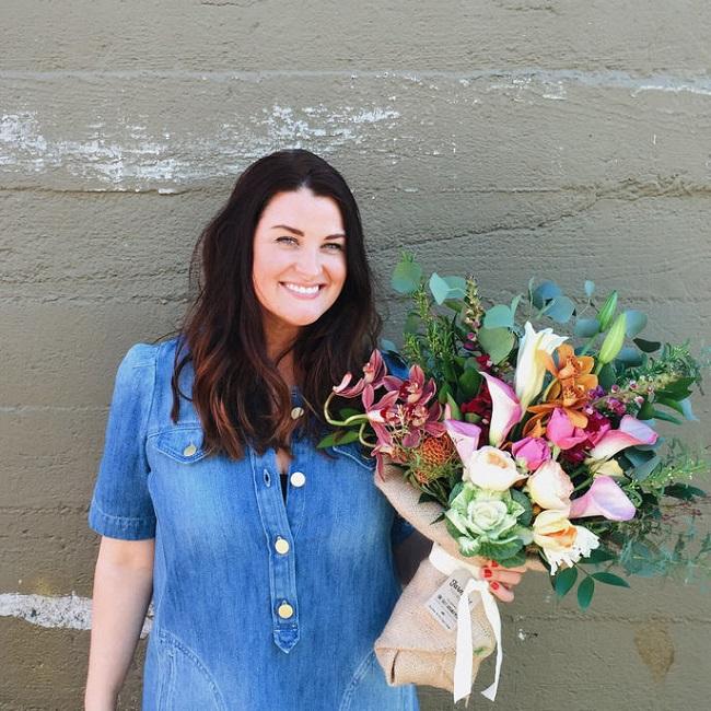 Christina Stembel, who runs a San Francisco-based florist startup