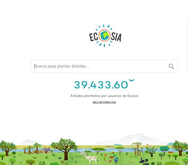 ¿Qué es Ecosia, la OSC que quiere comprar el bosque?