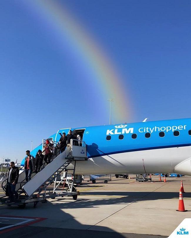 La sustentabilidad de KLM en accion