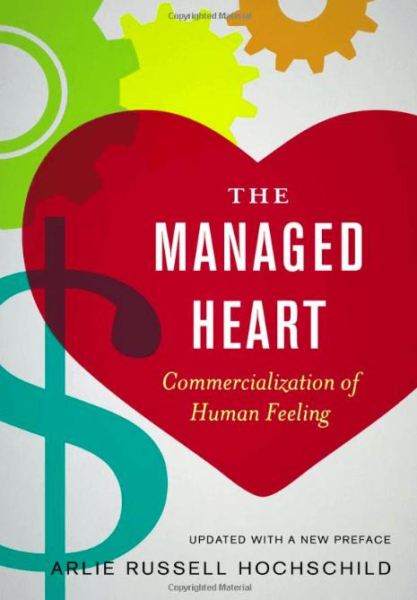 Libro que explica La labor emocional de las mujeres en la oficina