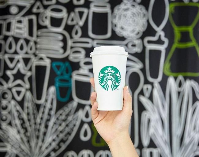 Starbucks hecho con contenedores de Taiwán