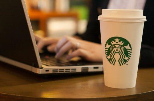 Porno en Starbucks