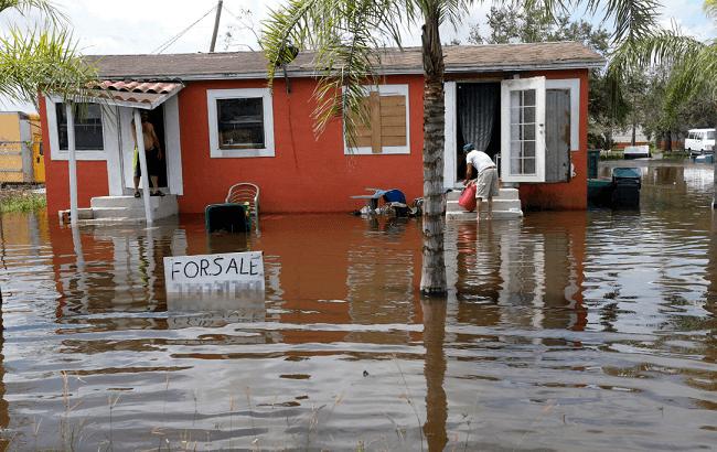 inundacion causa del cambio climatico