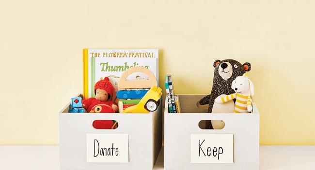 Una manera de tener un niño cero consumista es sacar un juguete de la casa cuando se compra uno nuevo