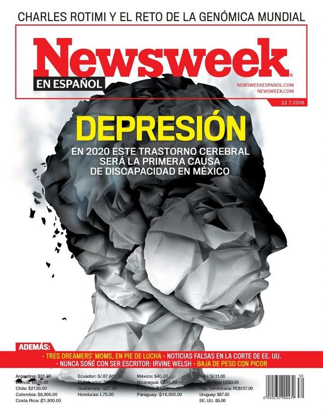 Formas de luchar contra la depresión en tu empleo portada de Newsweek en español