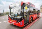 Autobús ecológico que limpia el aire
