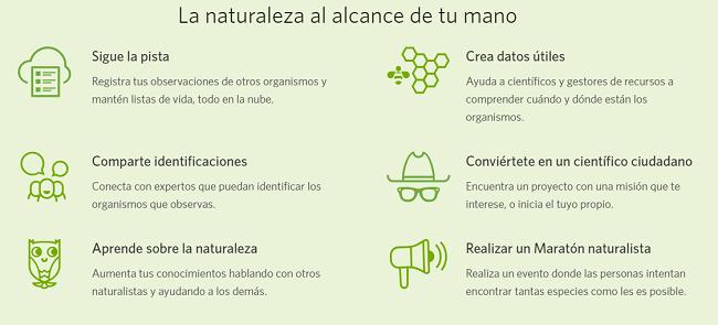 Todo lo que necesitas saber sobre iNaturalist
