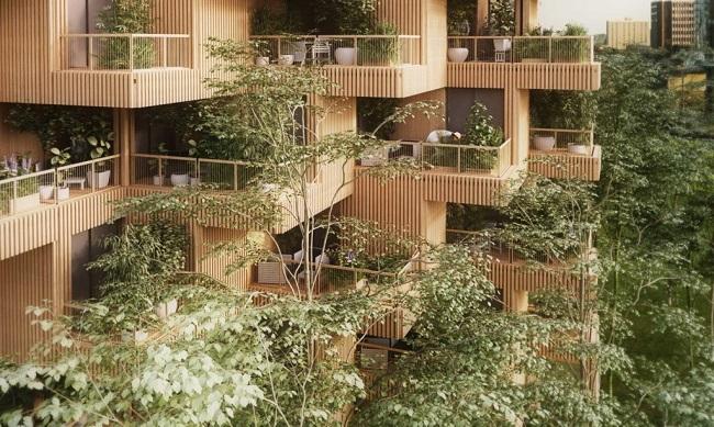 10 ejemplos de arquitectura sostenible - el primer rascacielos de madera