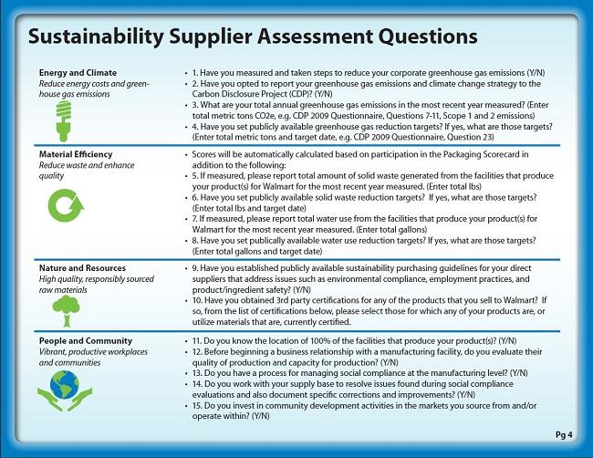 7 maneras de comunicar la sustentabilidad corporativa - Walmart