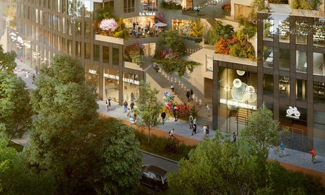 10 ejemplos de arquitectura sostenible - como una cordillera