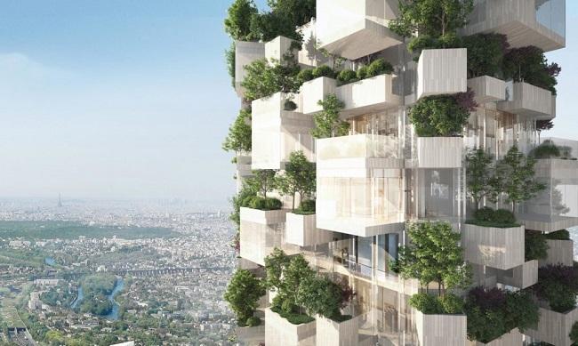 10 ejemplos de arquitectura sostenible - bosque vertical