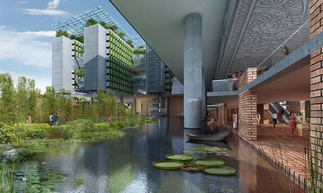 10 ejemplos de arquitectura sostenible - universidad flotante