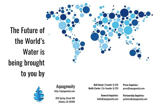Entrevista con la fudadora deAquagenuity, plataforma de calidad del agua sobre como ayuda a las empresas y los consumidores