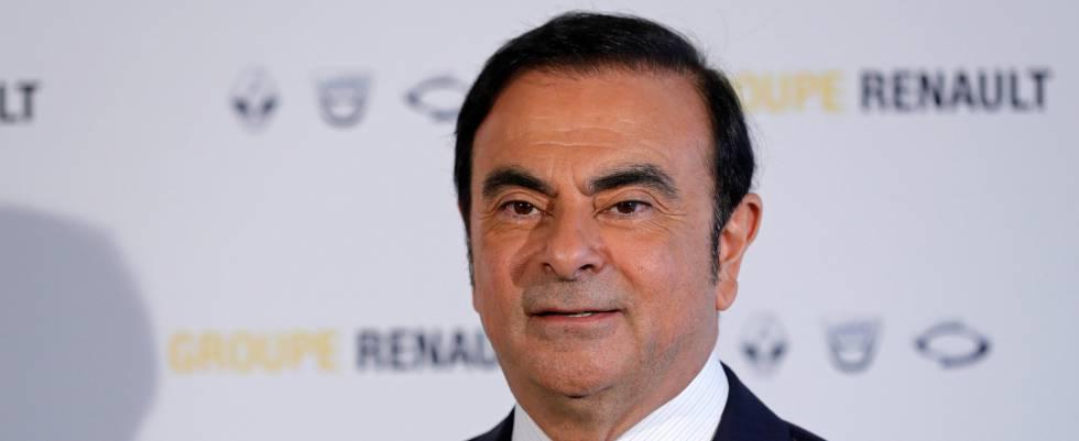 Carlos Ghosn dimite a presidencia de Renault