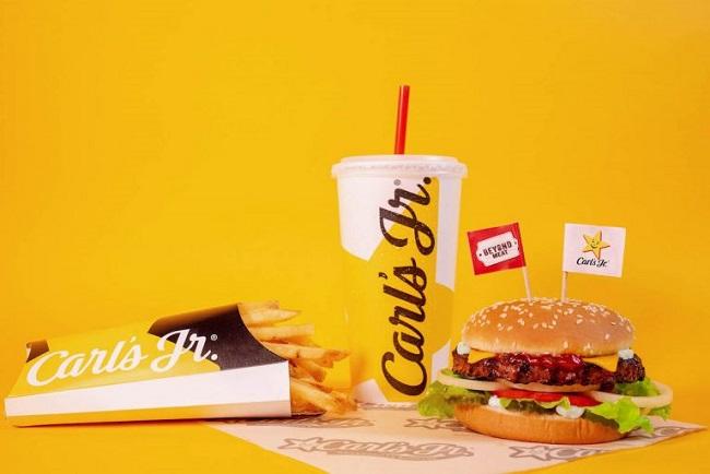 Alimentos comerciales hechos de plantas - Carls Jr