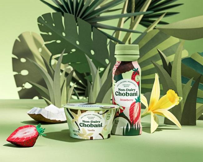 Alimentos comerciales hechos de plantas - Chobani