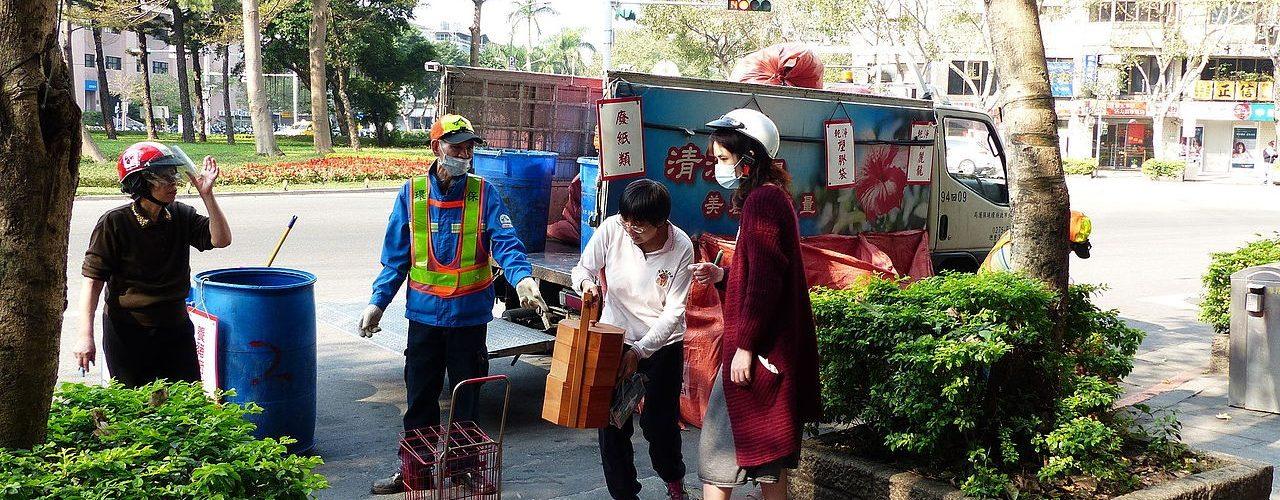Cómo logró Taiwán tan altas tazas de reciclado