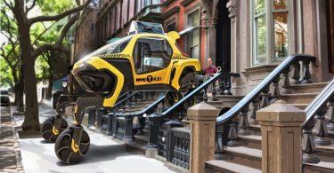 Hyundai presenta vehículo robot para desastres naturales y emergencias
