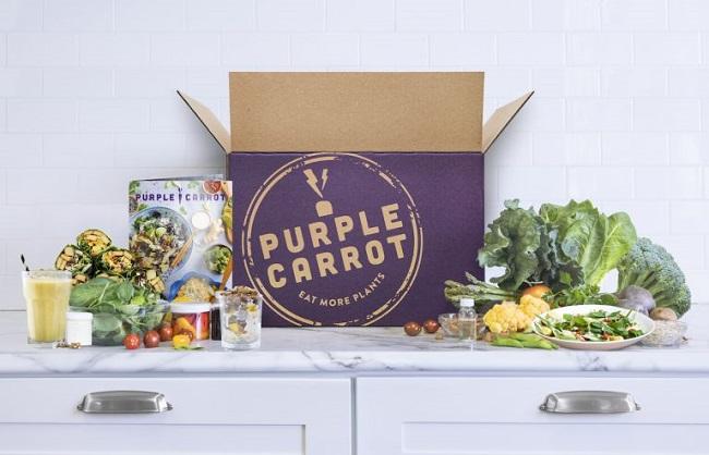 Alimentos comerciales hechos de plantas - Purple Carrot