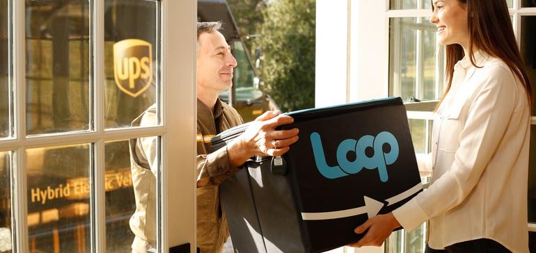 UPS prueba el primer empaque reusable de su clase
