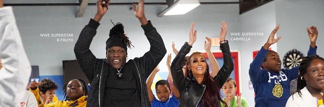 WWE y UNICEF lucharán codo a codo por los niños
