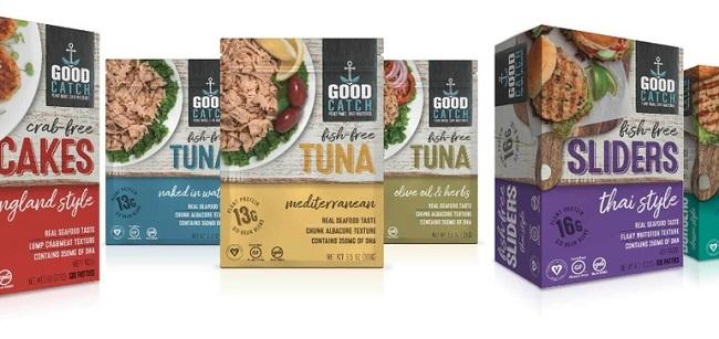 Alimentos comerciales hechos de plantas - Good Catch