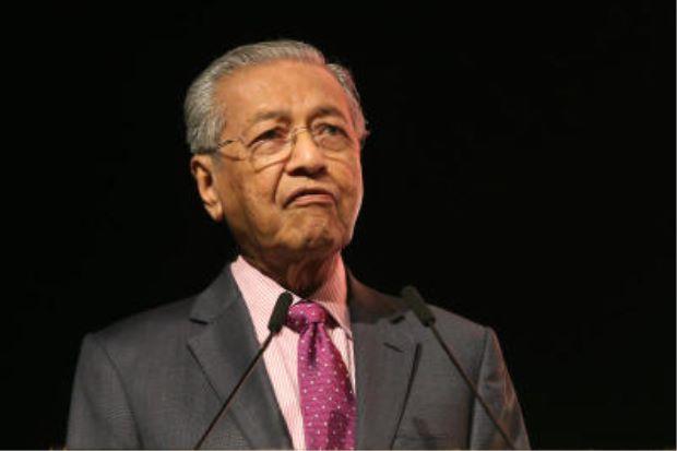 El primer ministro de Malasia, Mahathir Mohamad momentos graciosos de la sustentabilidad