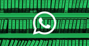 Datos confidenciales en WhatsApp