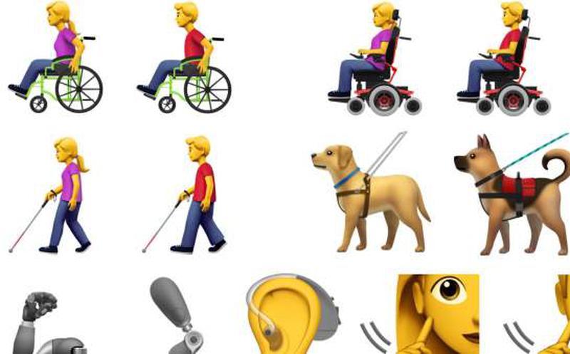 Galería de emojis 2019 promueve la inclusión y la diversidad