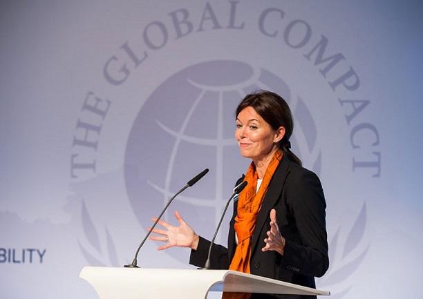 Lise Kingo explica cómo transformar riesgos en oportunidades con los ODS