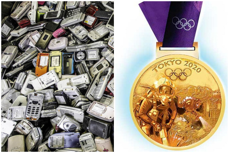 De qué están hechas las medallas de Tokio que serán únicas en la historia