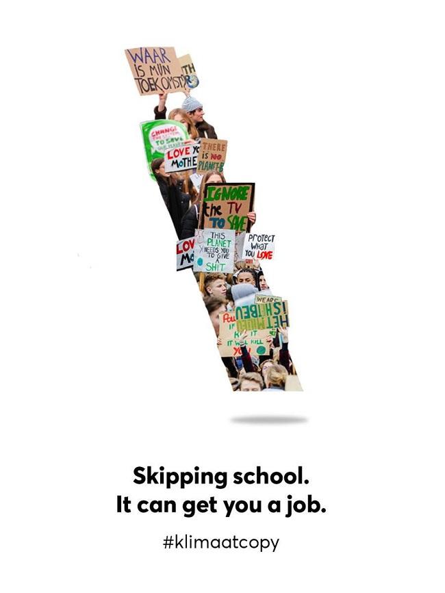 Campañas contra el cambio climático que tienes que ver - Skipping school