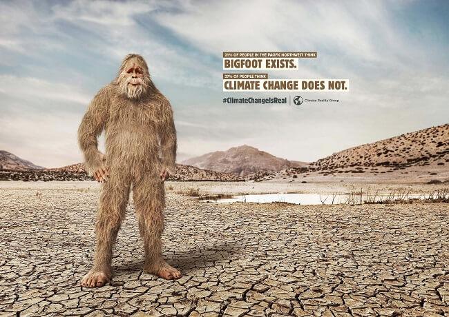 Campañas contra el cambio climático que tienes que ver - Bigfoot