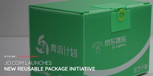 RSE del retailer más grande de China: Reducir la huella ambiental de la empresa