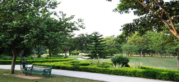 Ciudades con arquitectura de la resiliencia - Valle de Ocio como un continuo de jardines que cuidan el cuerpo y el espíritu de la ciudad Chandigarh