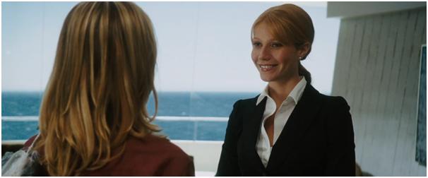 mujeres en las películas de Marvel