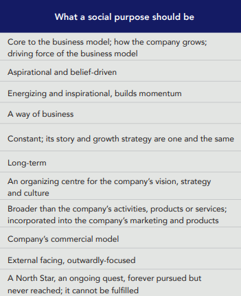 Criterios para definir tu propósito de marca que es y que no es proposito de marca