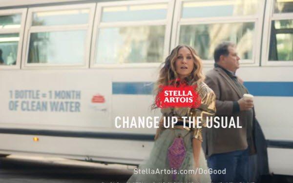 Sarah Jessica Parker ayuda a la conservación del agua ccon Stella Artois y WWater.org