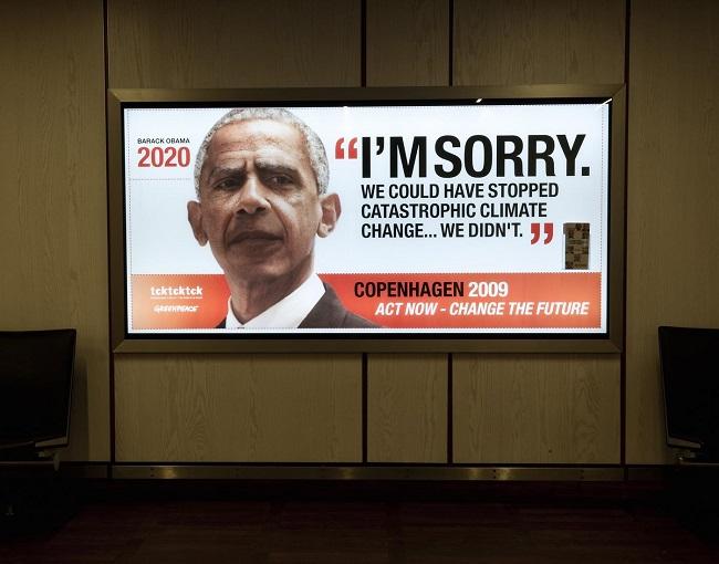 Campañas contra el cambio climático que tienes que ver - Greenpeace Barack Obama