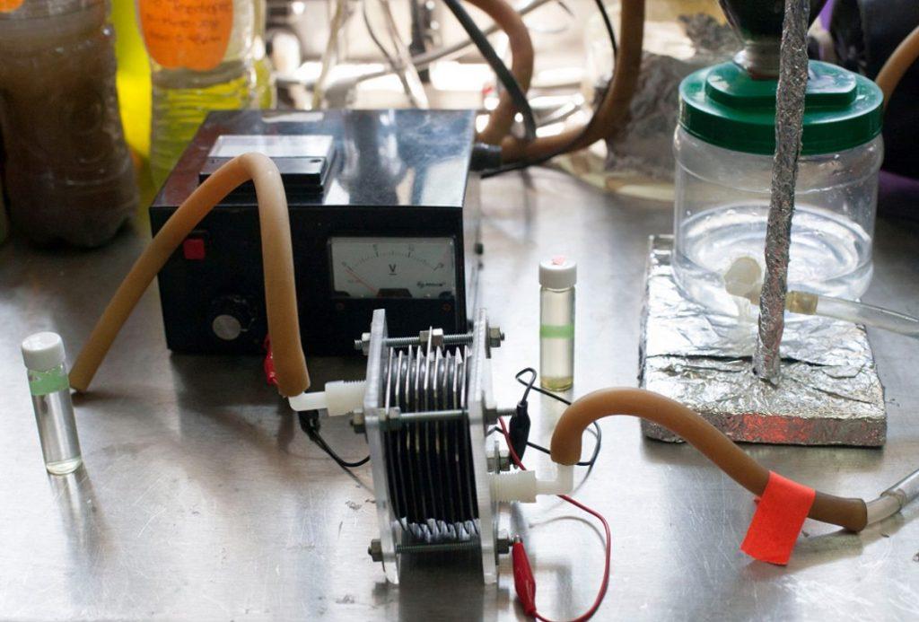 Agua sucia convertida en combustible