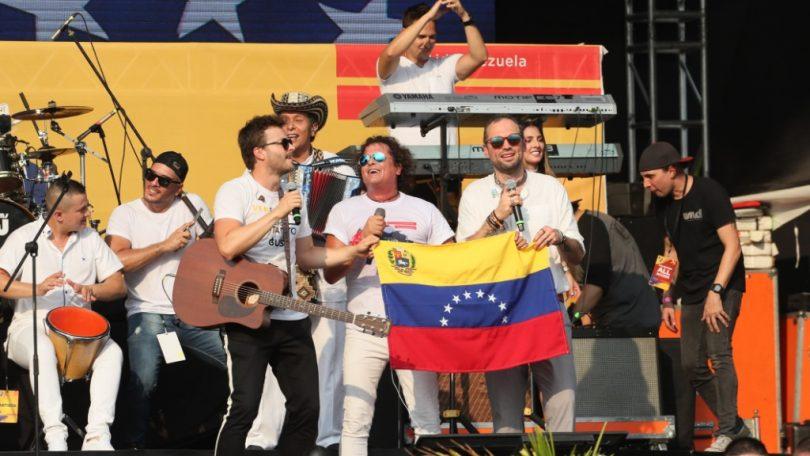Más de 2 millones de dólares para el Venezuela Aid Live
