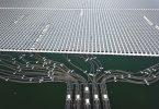 Planta solar flotante; Holanda la construirá sobre el mar