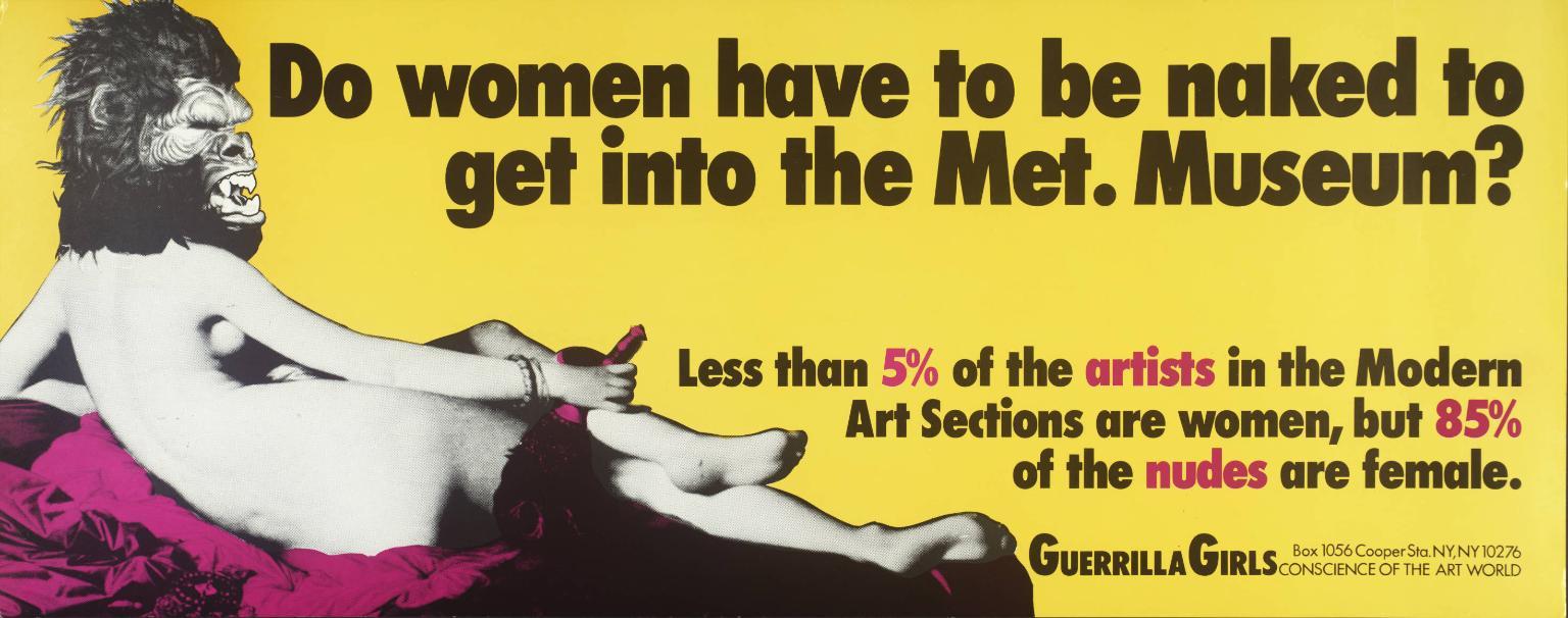 Sexismo en el arte