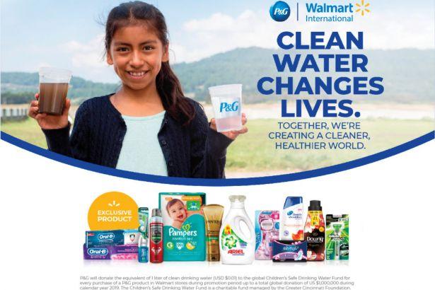 La alianza por el agua entre P&G y Walmart