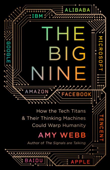 Preguntas incómodas pero responsables para los amantes de la IA - libro The Big Nine