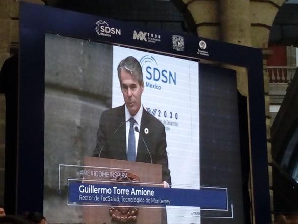 Evento: Presentación de la Red de Seguimiento a los Objetivos de Desarrollo Sostenible en México