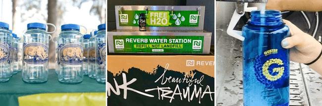 ¿Puede la industria de la música ser verde? Campaña #RocknRefill