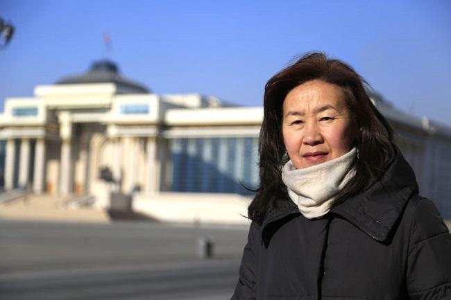Activistas premiados por defender el planeta: Bayarjargal Agvaantseren de Mongolia